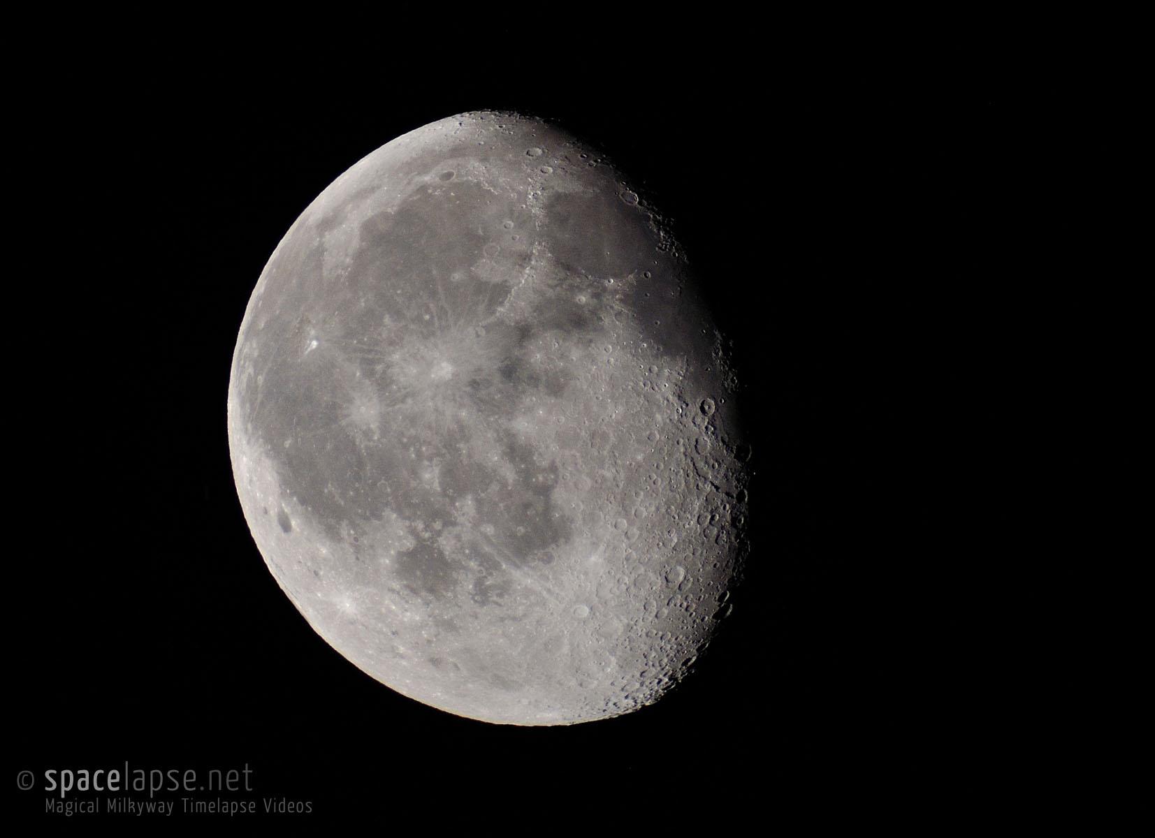 Allererstes astrofoto mit teleskop foto bild astrofotografie