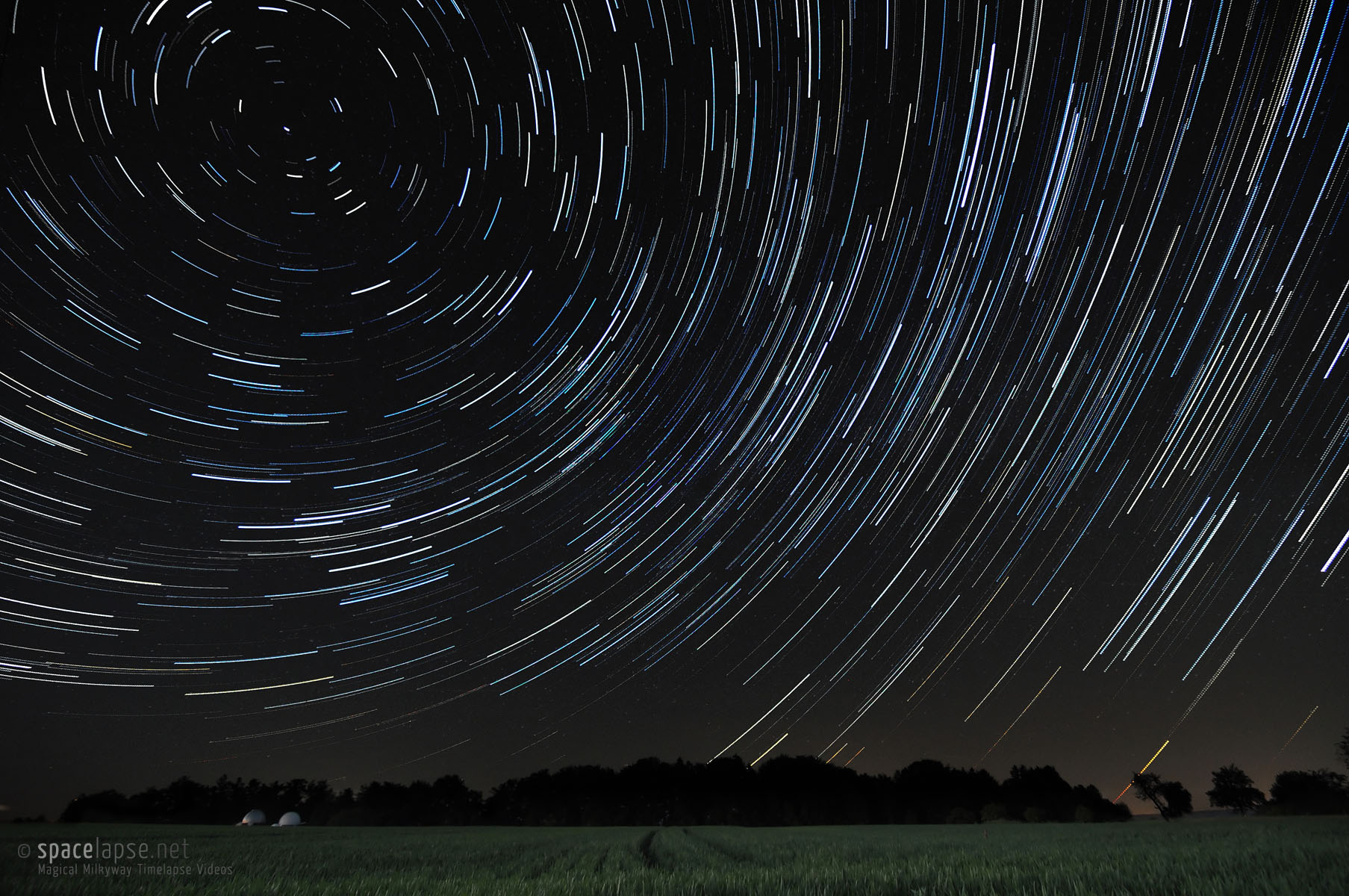 Startrails - At the Welzheim Observatory