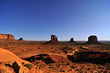 Moonshine Valley - Monument Valley at moonshine
