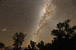 Moving Milky Way - This pictures has been shot with a tracking system to capture the movement of the milky way.