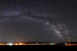 Protecting Earth - The milkyway is protecting the earth, near Bodie, USA