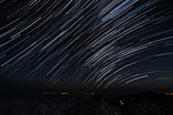 Startrails above the Canary Islands - Stars in motion above La Gomera and Tenerife