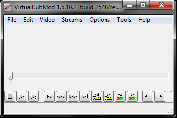 Virtual Dub Mod user interface
